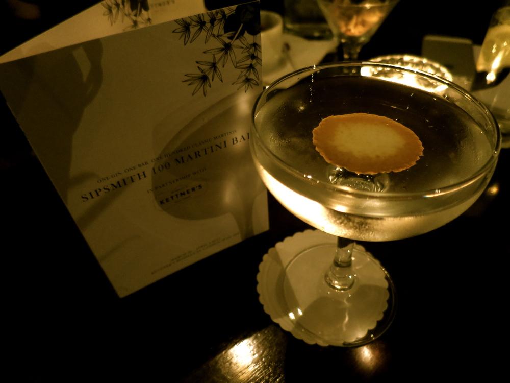 The Klondike Martini.