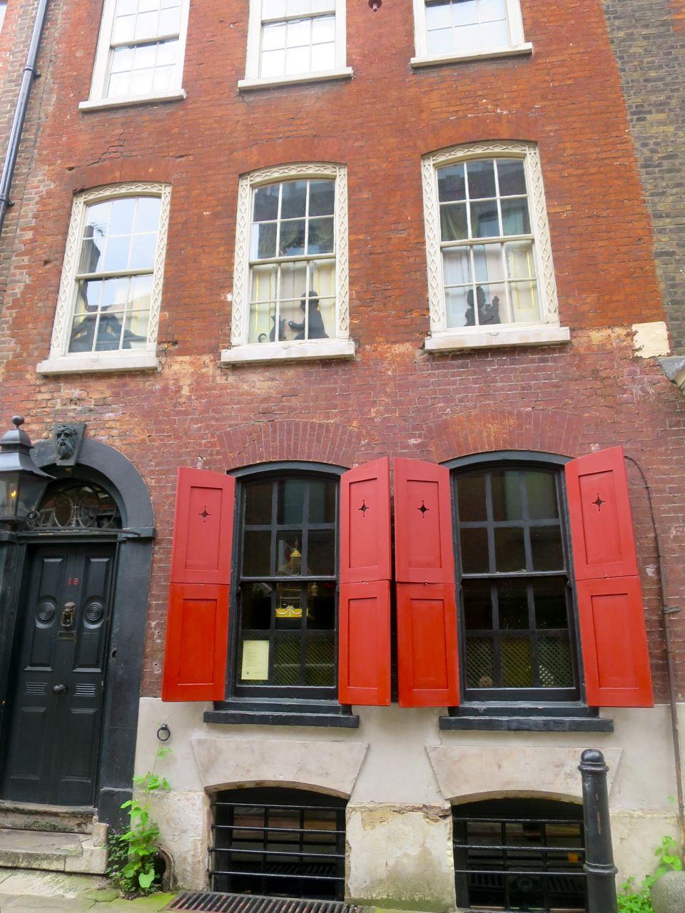 Dennis Sever's House.