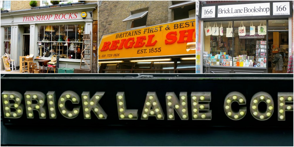Lively Brick Lane.