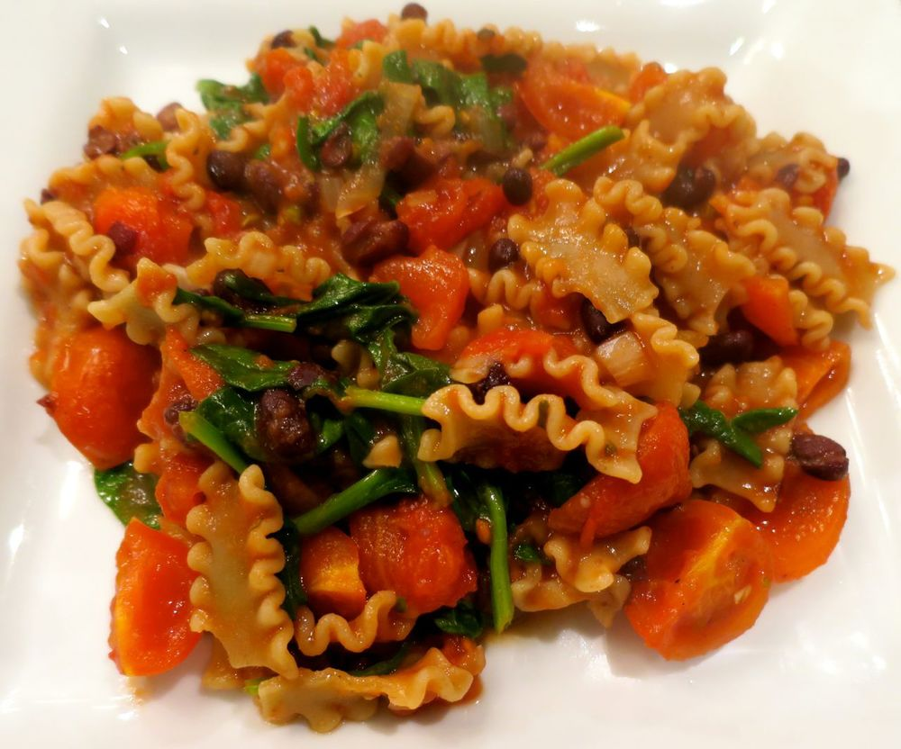 Ten Minute Tomato Pasta