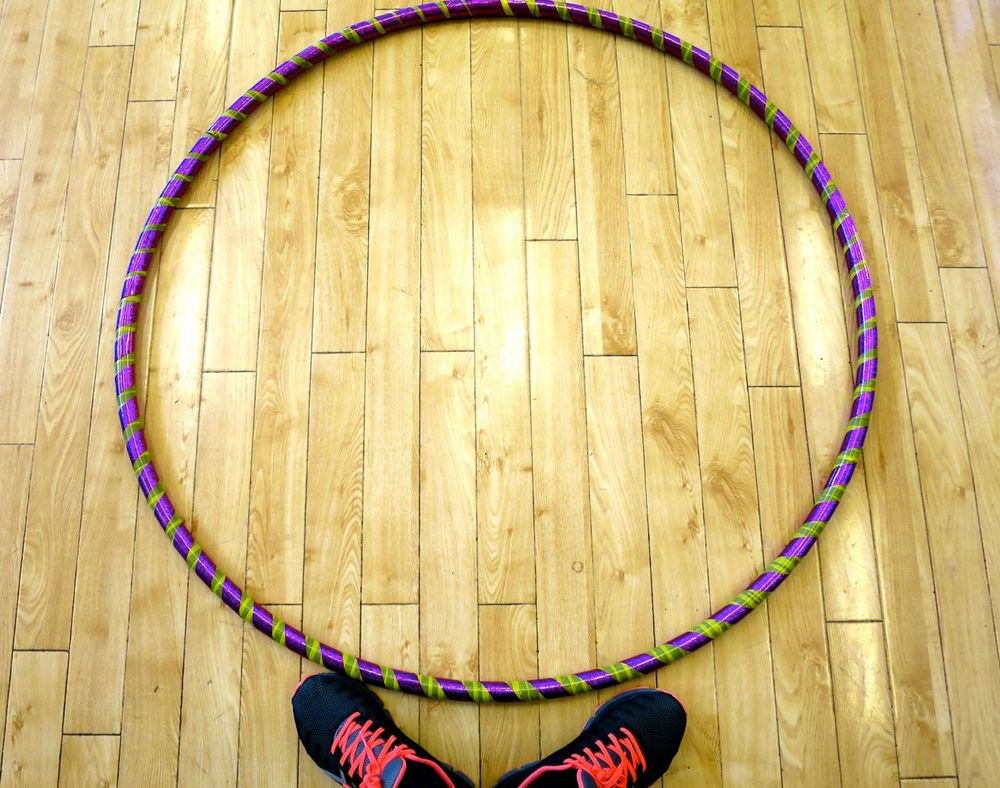 Finished Hula Hoop