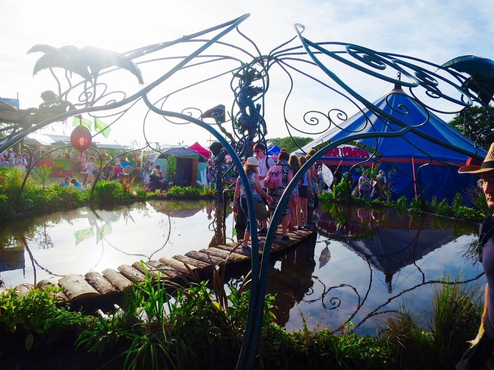 Glastonbury Festival Healing Field