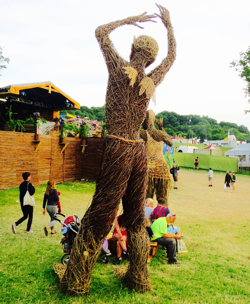 Glastonbury Festival Sculpture