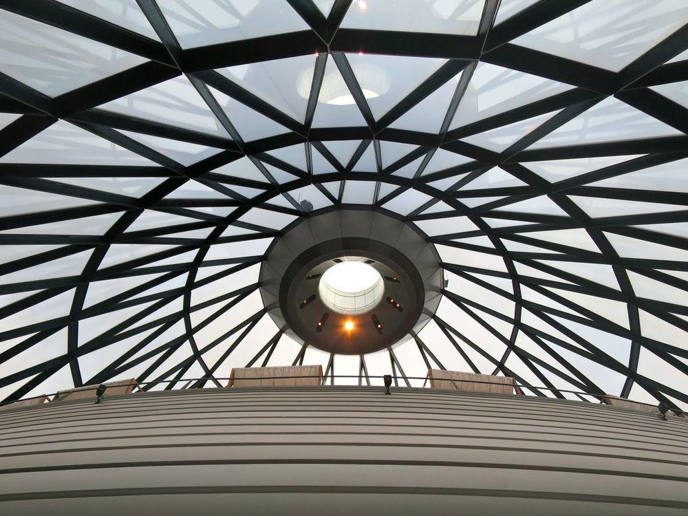 Gherkin Interior Ceiling