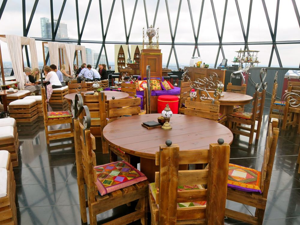 The Gherkin Floor 40