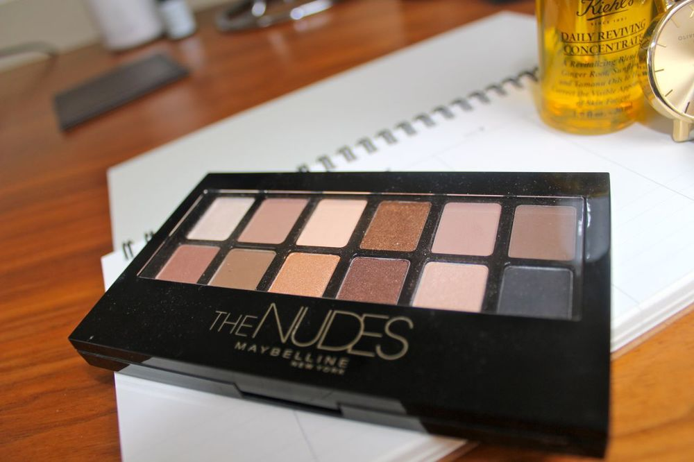 Maybelline The Nudes Pallette