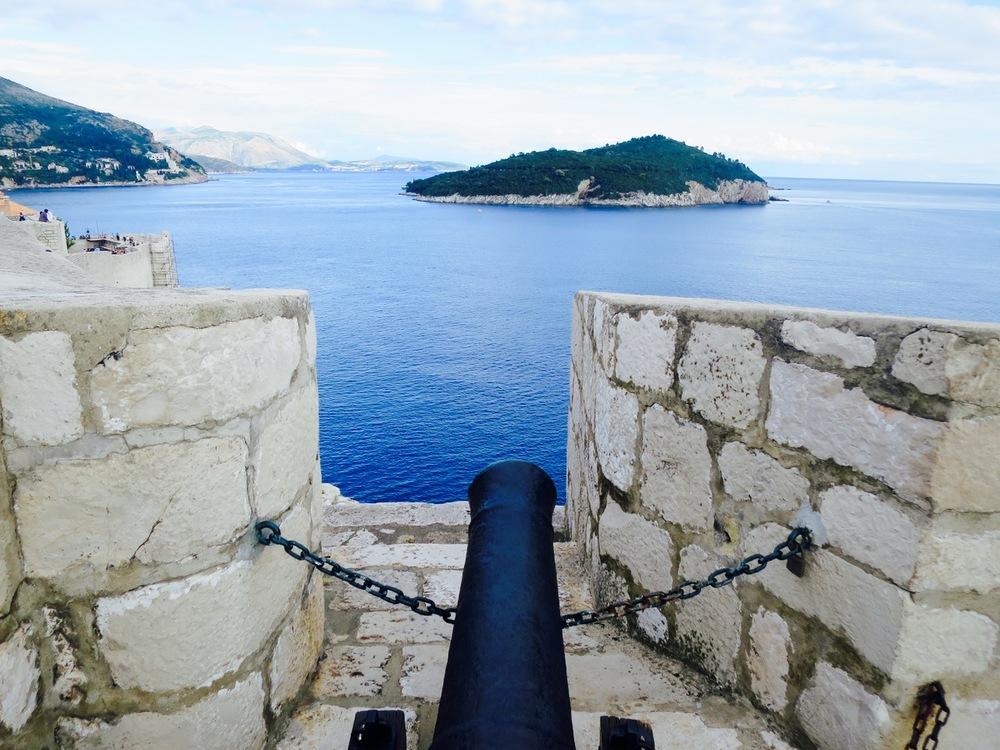 Dubrovnik Old Town Lokrum View