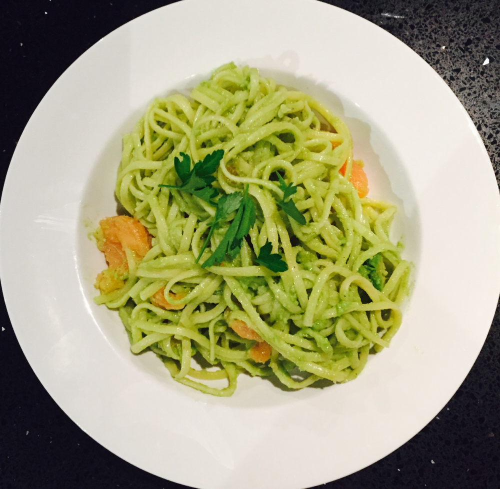 Easy Avocado Pasta