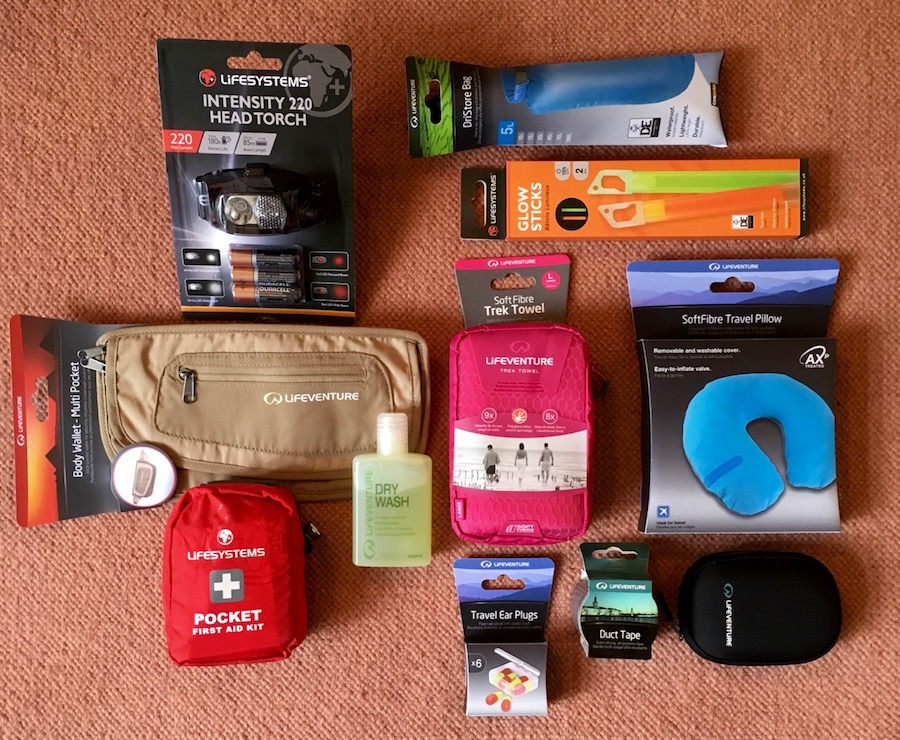 Lifeventure Festival Survival Kit