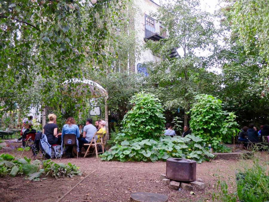 Dalston East Curve Garden