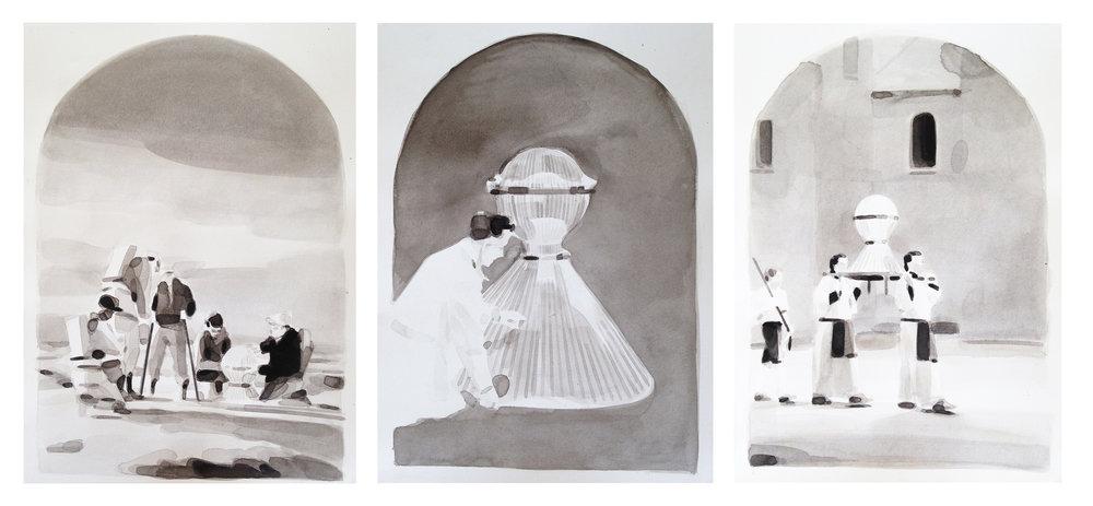 Adam Dix, triptych study (c) Adam Dix. Courtesy ARTNAKED.jpg