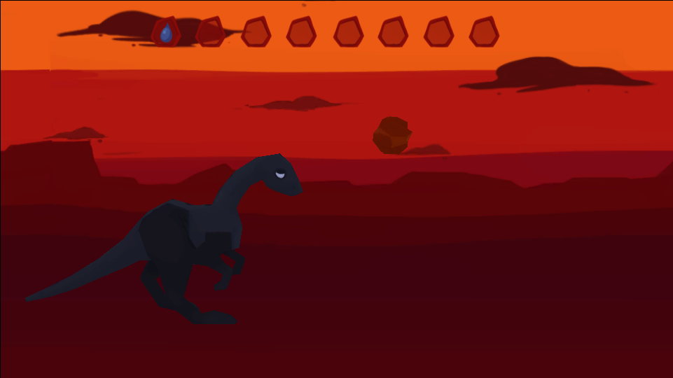 That It Should Come to This!    - January 2015 -    The last living dinosaur navigates an apocalyptic world after her friends and relatives perish.     Made in 24 hours as part of the 2015 Global Game Jam. Responsibilities for this project were models, textures, rigging, animation and 2d art.