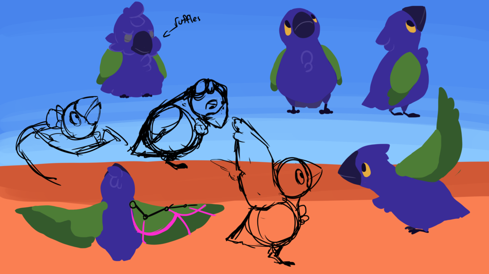 divIII_concept_babybird_draft8_coloredsketches.png