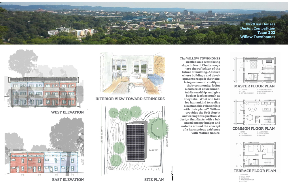 Plan-it-Green: Olivia Karavatakis; Root5 Design: Sam Young; TVA: Andy Dodson; Renew: Jay Martin