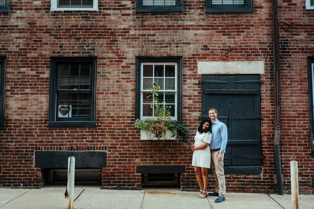 Radha + Dan  - Old City, Philadelphia