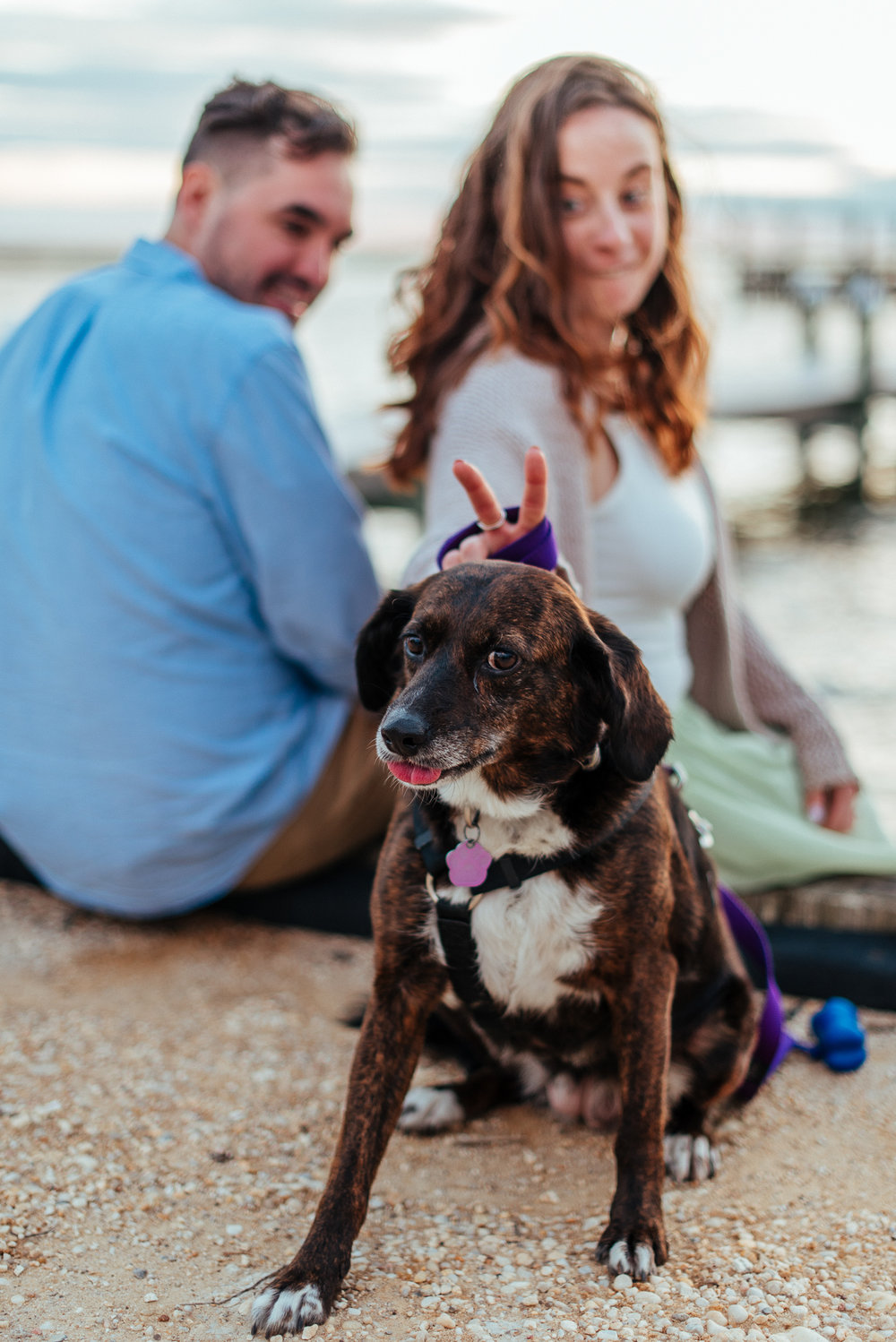 Whimsical LBI Engagement Session