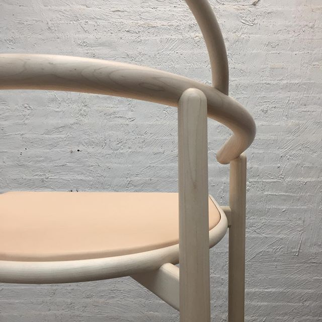Might be a chair. - - - - - #steambending #bentwood #customchair #nycfurniture #steambentchair #deskchair #diningchair