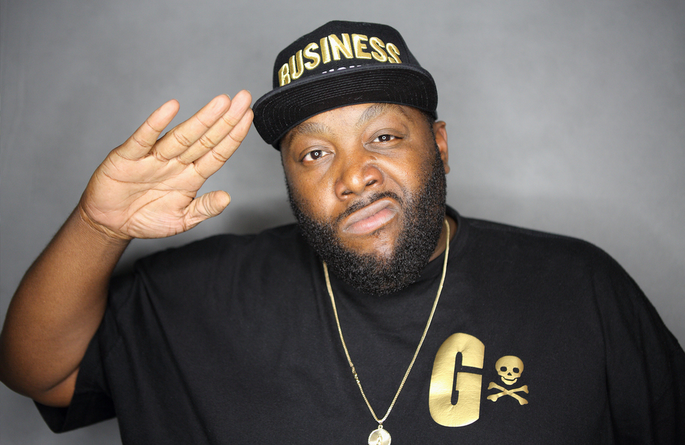Killer Mike backstage at Howard Theatre
