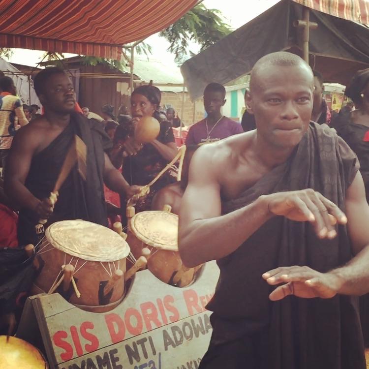 Ghana 2015, Week Five: Kumasi Ewe Community, Ghana Dance