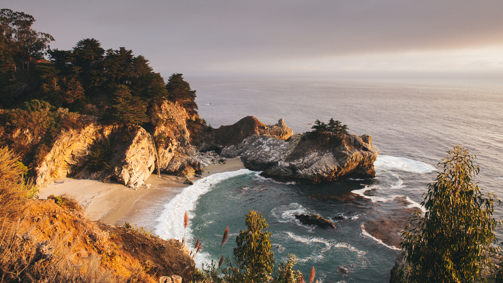 A secret spot right off the One. Wait? You've seen it before?McWay Waterfall at Julia Pfeiffer Burns State Park.
