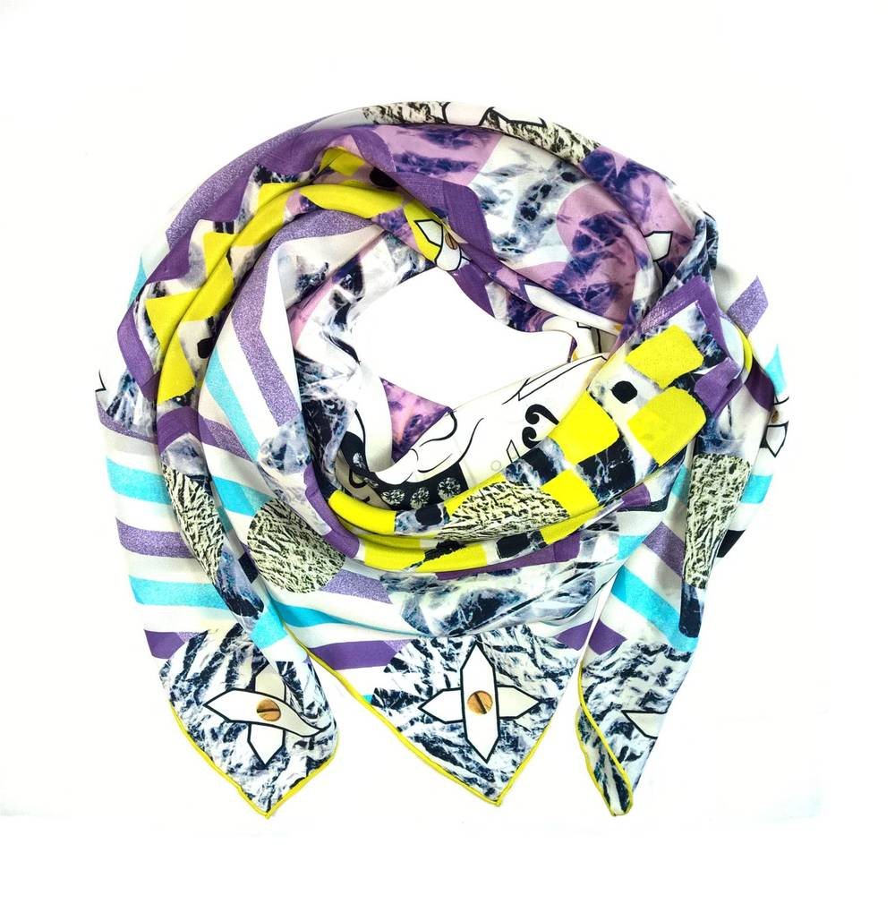Lavinia Cadar: Colours of Fantasy | Accessories,Accessories > Scarves -  Hiphunters Shop
