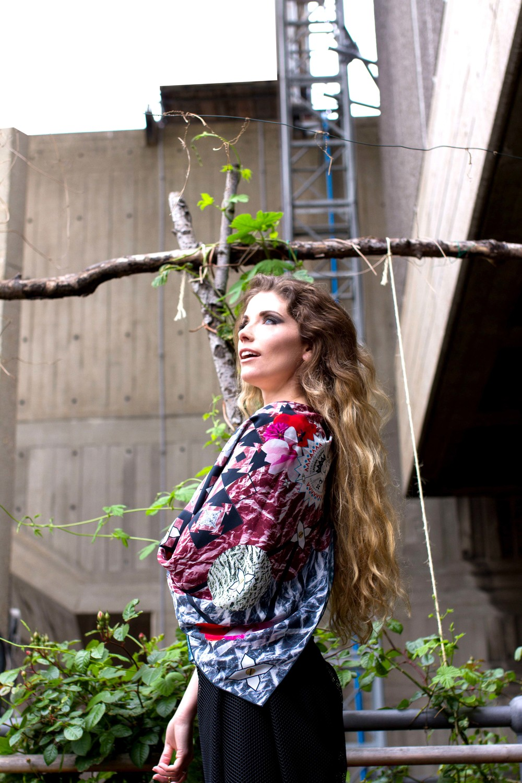 Lavinia Cadar: Commedia dell\' Quadri   Accessories,Accessories > Scarves -  Hiphunters Shop