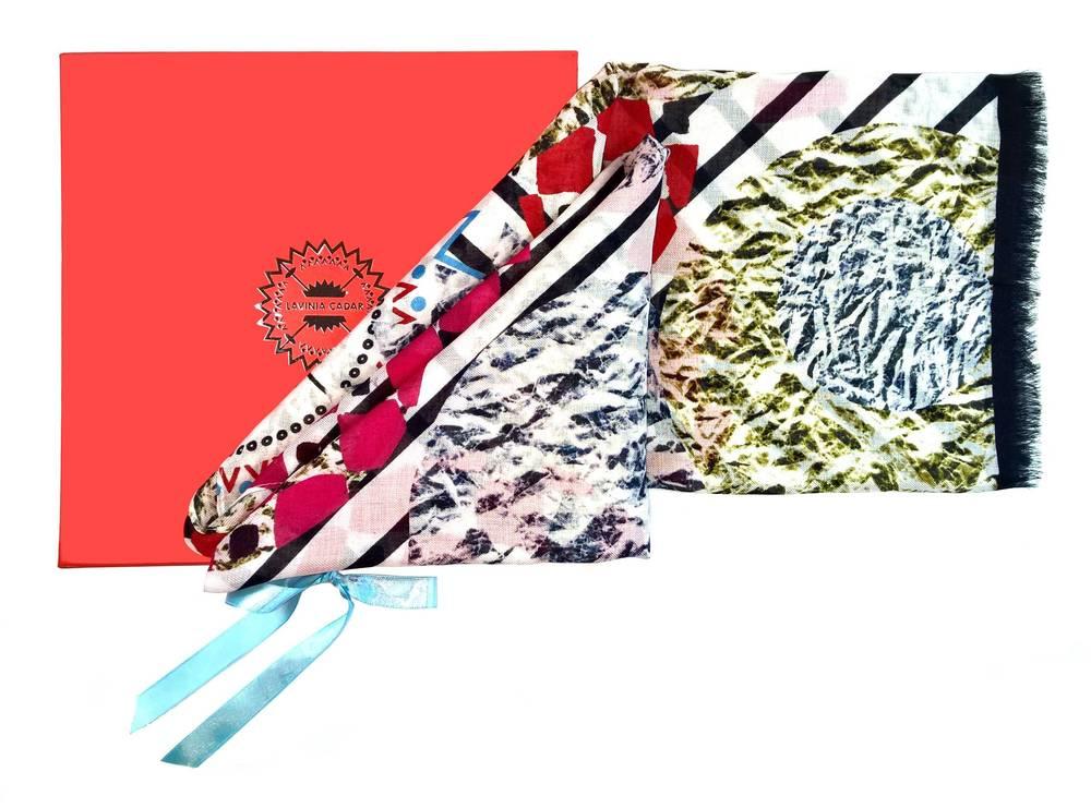 Lavinia Cadar: Spettacolo Fino | Accessories,Accessories > Scarves -  Hiphunters Shop