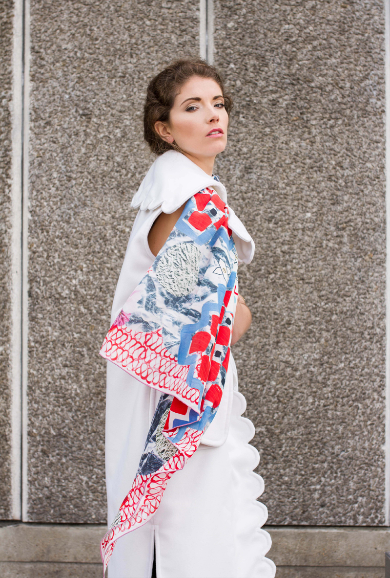 Lavinia Cadar: Whirlwind Divertente | Accessories,Accessories > Scarves -  Hiphunters Shop