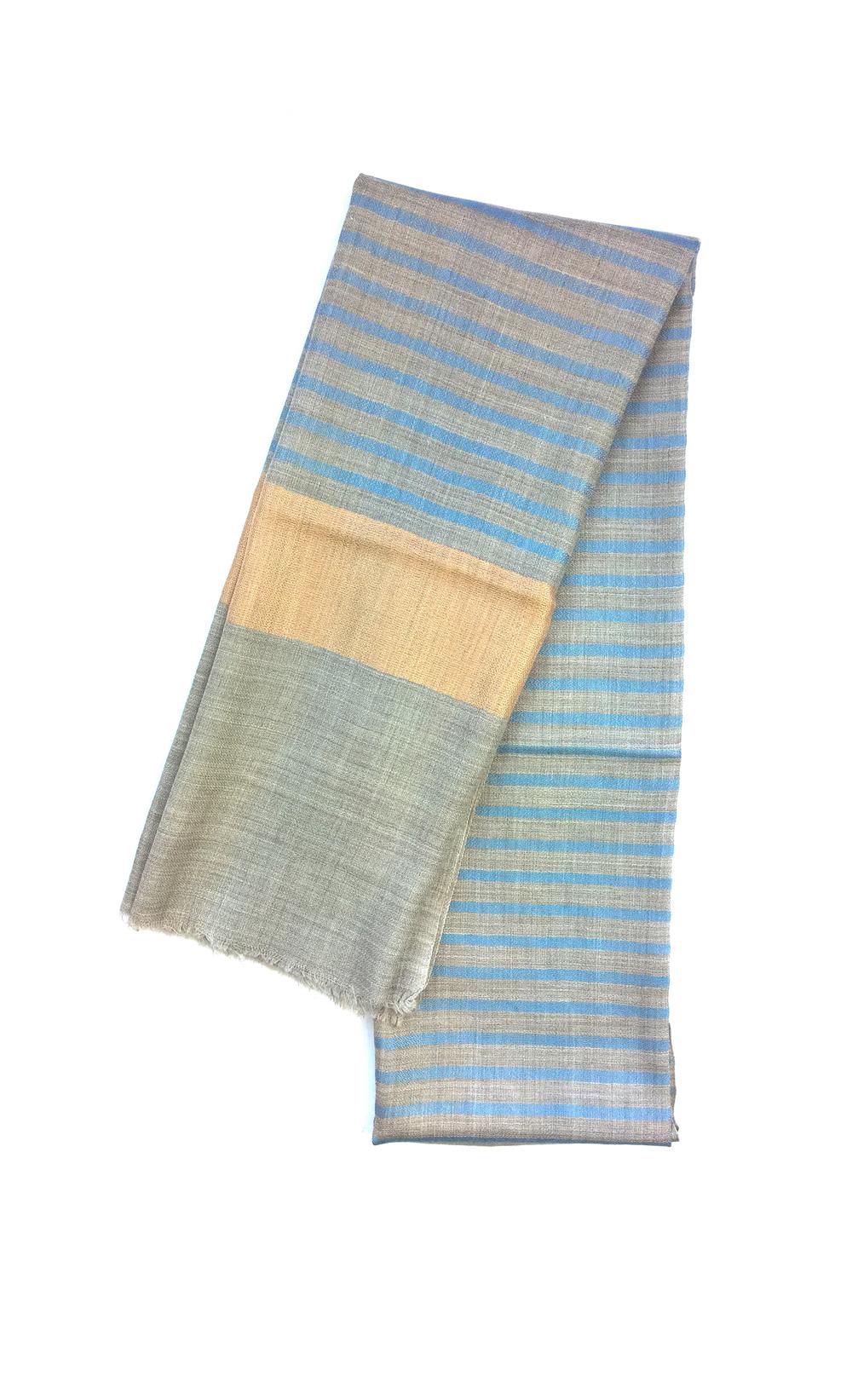 Lavinia Cadar: Blue Elision | Accessories,Accessories > Scarves -  Hiphunters Shop