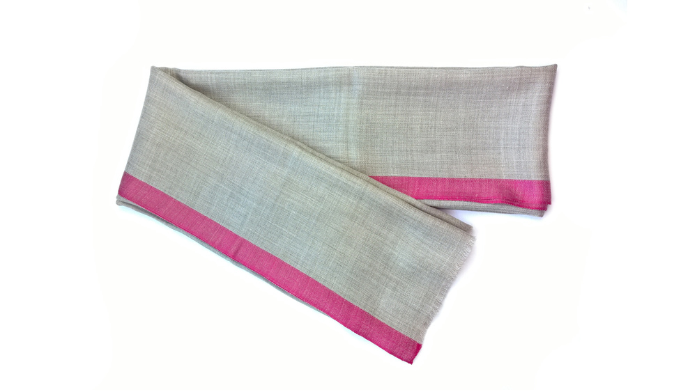 Lavinia Cadar: Lithe Pink   Accessories,Accessories > Scarves -  Hiphunters Shop