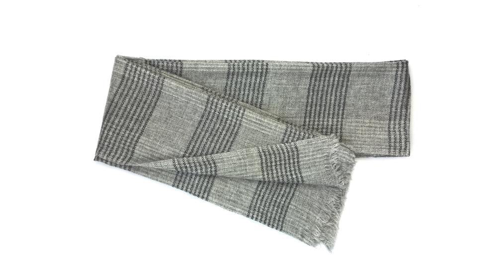 Lavinia Cadar: Quintessential Grey | Accessories,Accessories > Scarves -  Hiphunters Shop