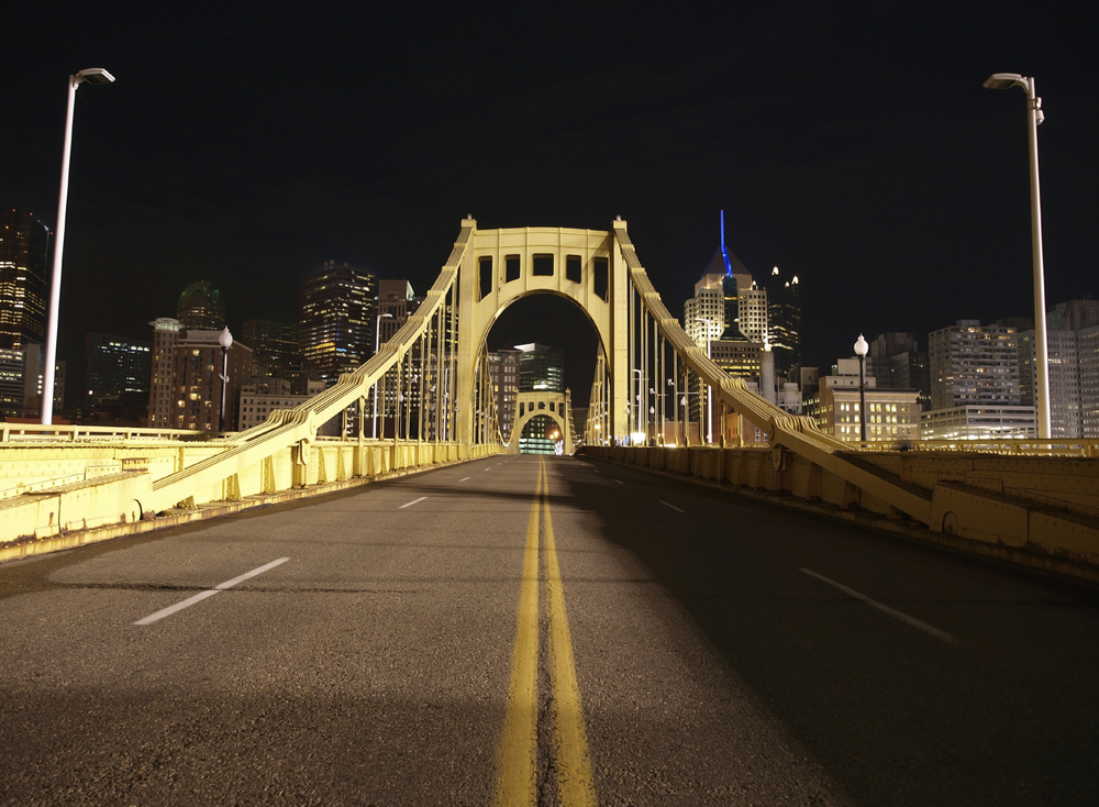 Pittsburgh Night Bridge
