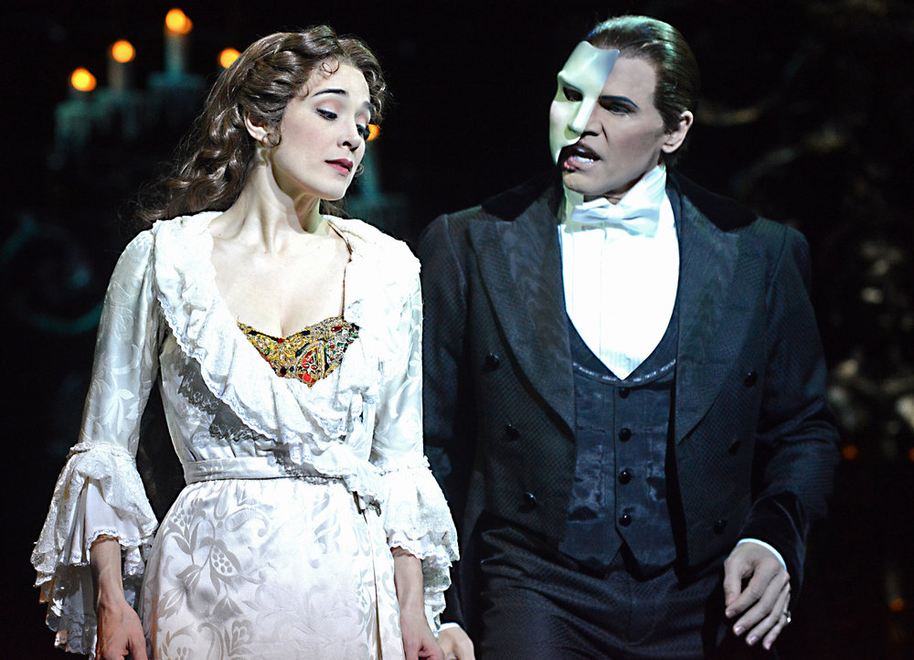 Elizabeth Welch, Christine, Brent Barrett, Phantom, Das Phantom der Oper