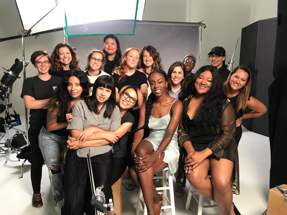 ^ Working with an all female crew for Man Repeller & Olay!  < Q&A and IFF Boston for JessZilla