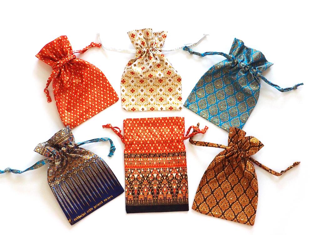 Sukhothai Pattern Small Gift Bags