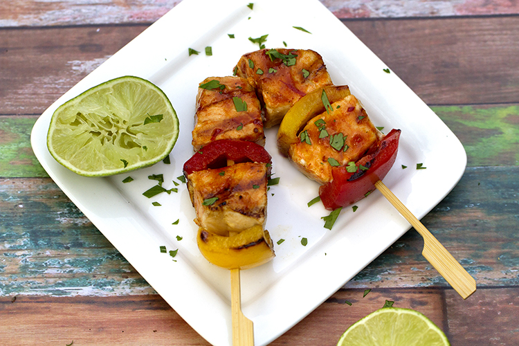 Swordfish Kabobs with Pad Thai Sauce