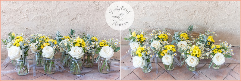 FunkyBird wedding flowers in Tuscany 3