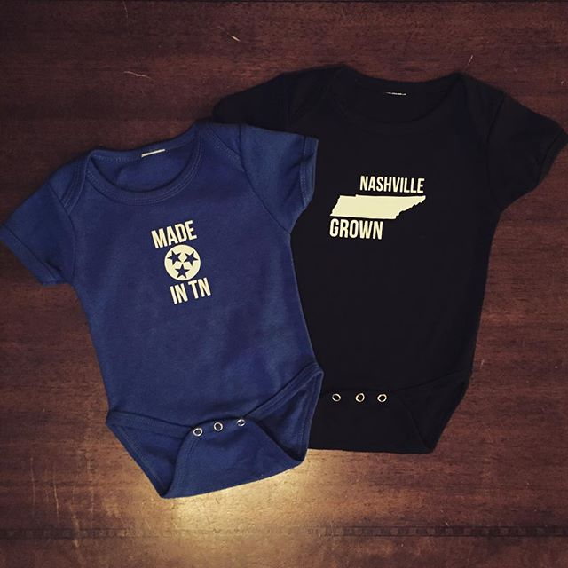 Our new Munsies. Get them in our online shop. www.campusstache.com #StacheOn #NashvilleGrown #MadeInTN #MadeInNashville #Mustache #SmallBusiness #ShopLocal #Baby #BabyGift #Onsie #NashvilleProud #Summer