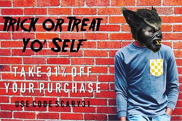 Last day to take advantage of our Trick or Treat Yo' Self sale. #StacheOn #Sale #Mustache #Nashville #SmallBusiness #ShopLocal #MadeInUSA #Tennessee #TreatYoSelf #TrickOrTreat #VFL #GBO