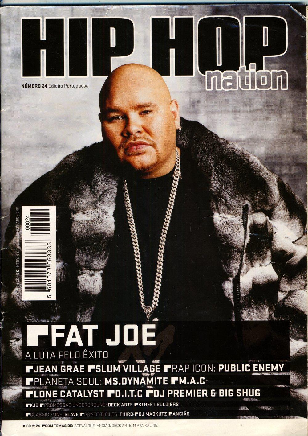 interview, fat joe, deck-arte, hiphop nation