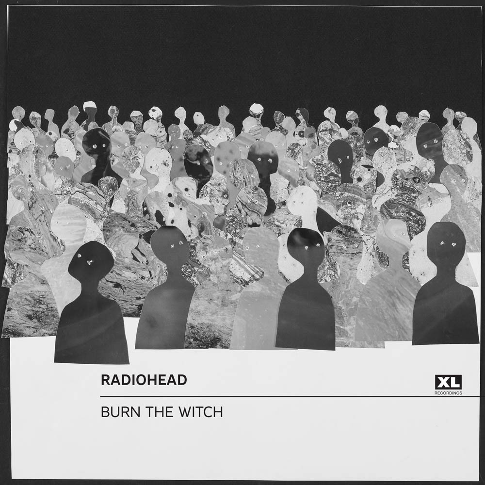"Album artwork for Radiohead's latest single release, ""Burn the Witch,"" on May 3, 2016."