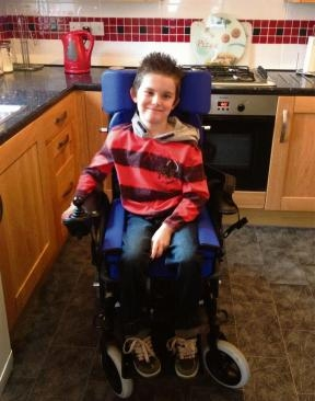 "THE family of a nine-year-old boy who has been left paralysed by a neuro-muscular disease are appealing for help to make sure he can continue to play his favourite sport.  Alex Mason, from Barlby, was diagnosed with Friedreich's ataxia when he was just four, and now uses a powered wheelchair.  For the last year he has played with Leeds Powerchair Football, which mum Louise says has given him a vital chance to play sport and be part of a team, but that is now under threat if he does not get a new chair which costs £4,500.  ""Alex was diagnosed just before he was five which is very young. Seeing him deteriorate has been really hard. From having a son who could run, draw and play to Alex not being able to walk or even brush his own teeth has been heartbreaking. The symptoms of his condition have accelerated a lot faster than other children; usually they are able to walk until their teens.""  A year after he started playing powerchair football Alex, a pupil at Barlby Community Primary, loves the sport so much that Louise and her husband Derek want to get him a new powered wheelchair to make sure he can play when his current chair, which has been battered and damaged by the game, has to be retired.   Louise added: ""With his condition this is one of the only sports he can take part in and the change in him has been amazing. Being involved with the club has helped him get out of the house and meet new people, so it's had a huge affect on his confidence.  ""Not being able to play powerchair football would be devastating for Alex, it's something he really enjoys and it's helped him get out and express himself. Seeing the changes in him in the last six months has been amazing, and he needs this chair to keep doing what he loves.""  Charity Caudwell Children has stepped in to help towards the £4,500 cost, and now the Masons are appealing for donations to help Alex and other children with disabilities.   For more information on Alex's appeal and to donate visit  www.justgiving.com/Alexander-M  or text MASO60(£2) to 70070."