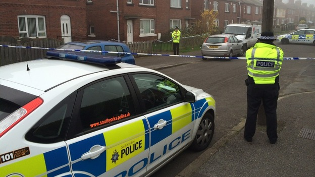 Police have arrested two people in connection with the murder investigation launched last night in Barnsley.  A 23-year-old man and 17-year-old girl have been arrested on suspicion of murder and are currently in police custody.  Emergency services were called to a house in Birkwood Avenue, Cudworth, at about 5.35pm on Wednesday evening after the body of an elderly woman, believed to be in her 70s, was found.