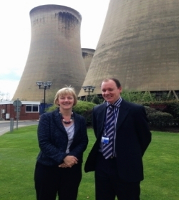 """Local Labour Euro MP Linda McAvan has met with project leaders at Drax power station to discuss their application to build the project which could ultimately create 4,000 jobs    The EU is expected to make an announcement next month which will confirm if the White Rose CCS project at Drax has been successful in its application for funding, potentially unlocking upto 300 million euros from the EU.    Drax is the only project in Europe that has made it to the final stage of the application process and so hopes are high that the funding will be awarded.     The White Rose project is expected to generate in the region of 1000 construction jobs and at least 60 operational jobs    The project will be one of just three in the world and the first in Europe to pioneer Carbon capture and storage (CCS) technology, trapping carbon dioxide emissions and piping them into deep rock formations for permanent storage, in this case, beneath the North Sea.    Linda, who leads for all Labour MEPs on environmental matters has pushed for Yorkshire to reap the benefits of the EU funding competition.    """"The government has already missed opportunities to unlock EU funding for CCS projects and so it is a great relief that both the government and the EU are working towards getting Europe's first CCS project the off the ground here in Yorkshire"""" said Linda.    The EU funding comes after the government committed to undertake a 2 year FEED (Front End Engineering and Design) study at Drax in December last year which comprises detailed engineering, design and planning work as well as identifying the funding requirements of the project. The government will look to make a final investment decision at the end of that 2 years with the EU funding tied to the government's commitment to co-finance the development.    The White Rose project is expected to generate in the region of 1000 construction jobs and at least 60 operational jobs, as well as having a knock-on effect benefitting local suppliers and b"""