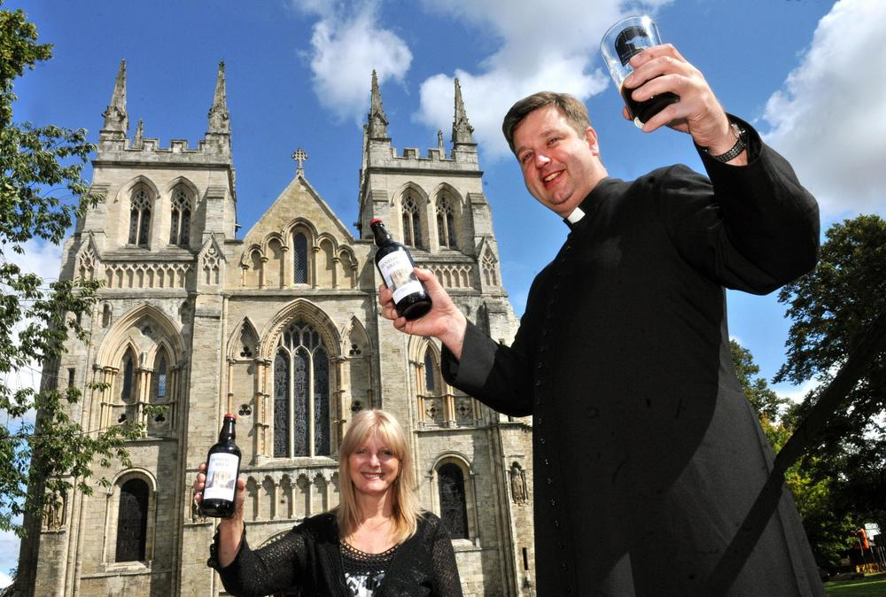 Come and try Benedicts brew next Wednesday as the Abbey celebrates its medieval day. The beer was created in near by Barlow by local Brown Cow Brewery.  In medieval times brewing was a daily part of monastic life and Selby Abbey is set to show visitors how beer was produced then and how it differs from the current methods.  The vicar Canon John said he hopes to see lots of people coming to the Abbey which will run from 10am - 5pm  Throughout the day their will be a variety of activities taking place including a drama workshop, music, wood turning, pottery, archery, birds of prey, a medieval bouncy castle, medieval style refreshments and a stained glass exhibition and lots more.     Admission is free.