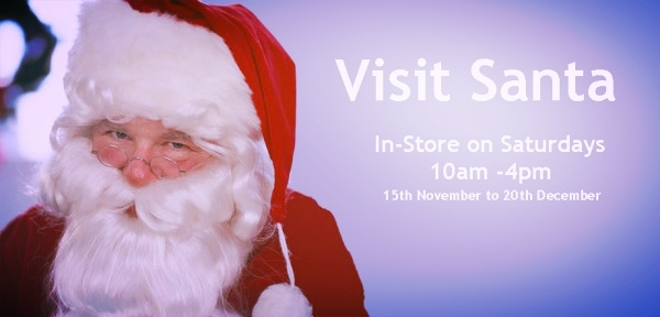 DONT MISS SANTA..   Santa is here in town at Wetherells andthis Saturday will be his final appearance before christmas.  It has been a tradition for many years within town and this year he has told us he has been very busy gathering gifts for the children of Selby and beyond.  Visit his Grotto within our fabulous Toy Department on the 2nd Floor. (Lift available)  We would love to see your pictures for our special Selby christmas article, please email to selbyeveryday@mail.com