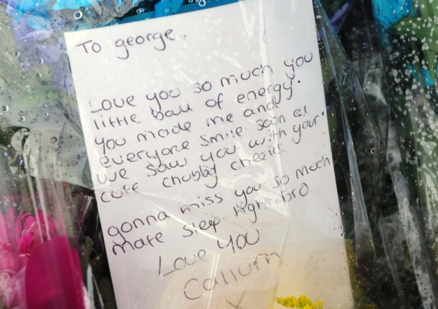 Heartbreaking letter written to George