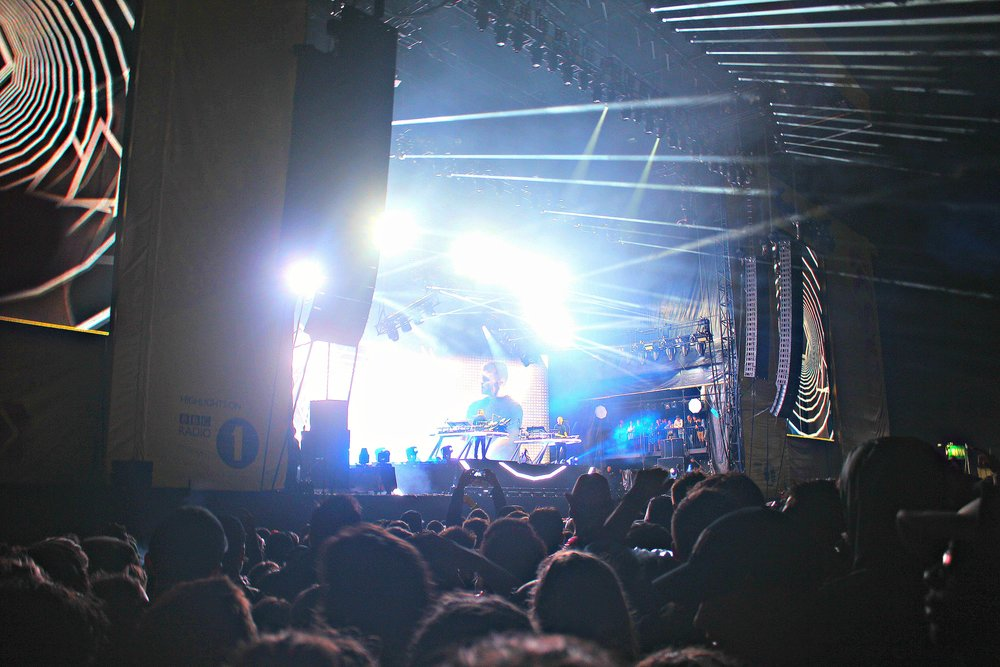 Disclosure headlined for their first time at Leeds Festival ( Image Sean Brown)