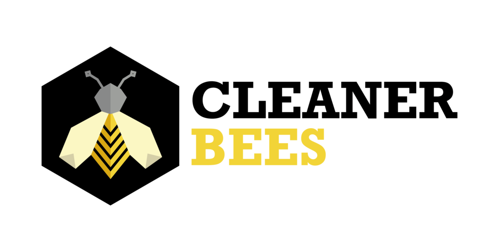 Cleaner Bees logo - with white border.png
