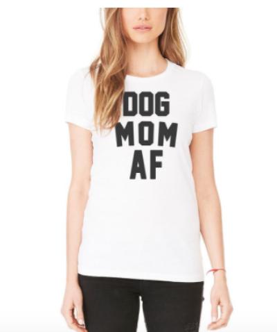 Dog Mom AF Fashion Crew
